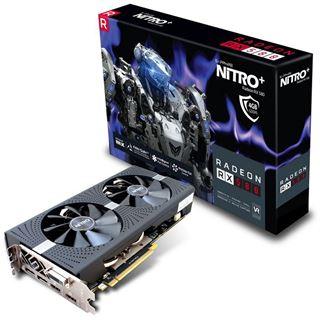 4GB Sapphire Radeon RX 580 Nitro+ Aktiv PCIe 3.0 x16 (Retail) (Mindfactory)