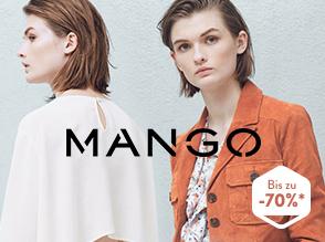 Noch bis morgen großer Mango-Sale mit vielen Tops, Blusen und Accessoires unter 9€ @Brands4Friends