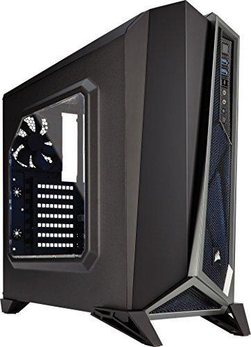 [nbb] Corsair CC-9011084-WW Carbide Series Spec-Alpha Seitenfenster (Mid-Tower ATX Gaming PC-Gehäuse) Schwarz/silber