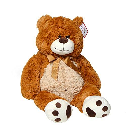 [Amazon] Riesen-Teddy Paul, 80cm XXL Plüschbär in hellbraun für 20,85€