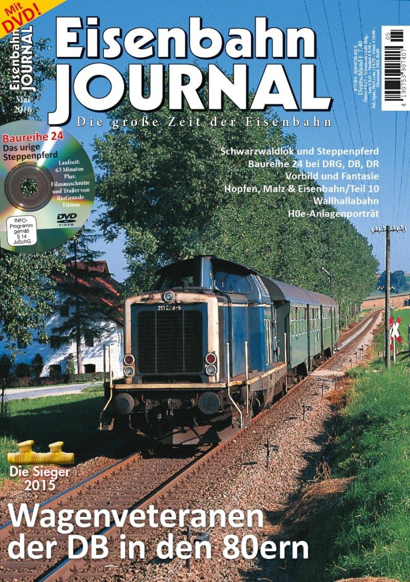 """(Modellbahn) Abo """"Eisenbahn Journal"""" (bis) zum Vatertag zum Sonderpreis direkt vom Verlag"""