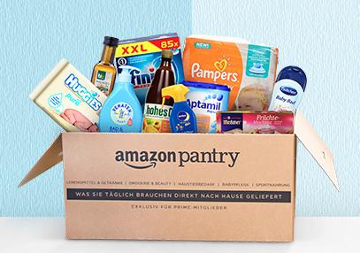 10€ Sofort-Rabatt ab 50€ bei Amazon Pantry [Prime] kombinierbar mit -10€ P&G Rabatt