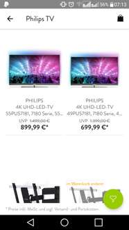 "Philips Ambilight 55"" & 49"" PUS7181"
