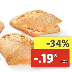 [Lidl ab 22.05.] Crustini Brötchen für 0,19€ statt 0,29€