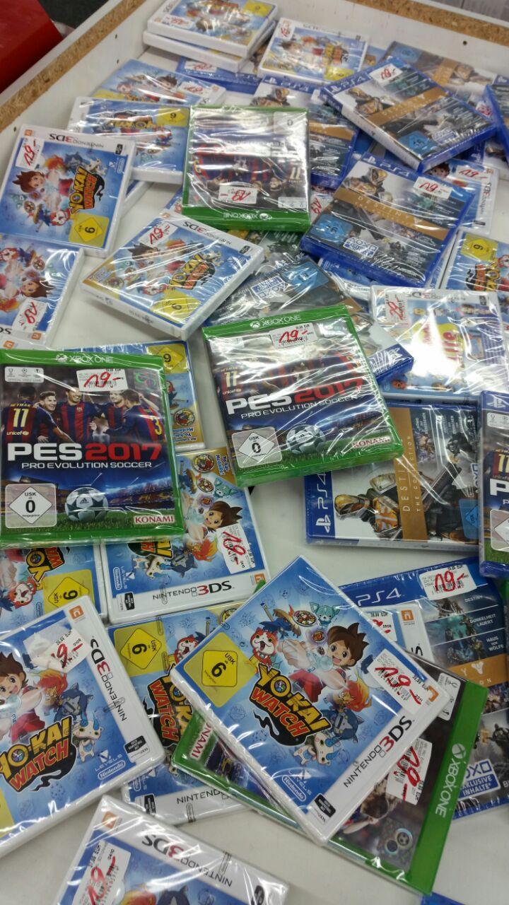 [Lokal Mediamarkt Wuppertal] Verschiedene Spiele für 19€ – Destiny - The Collection (PS4), Yo-kai Watch (3DS), PES 2017 (PS4 und Xbox One)