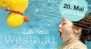 [Lokal Erlangen] Freier Eintritt ins neu eröffnende Westbad am 20. & 21. Mai