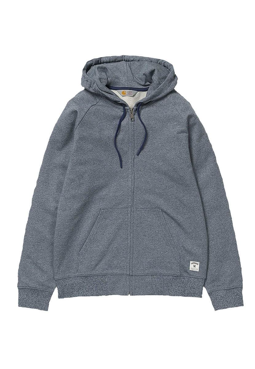 Carhartt Hooded Holbrook Zip Hoodie für 44,50€ + 3,90€ Versand statt 89,90 in Grau - Größe S M L XL
