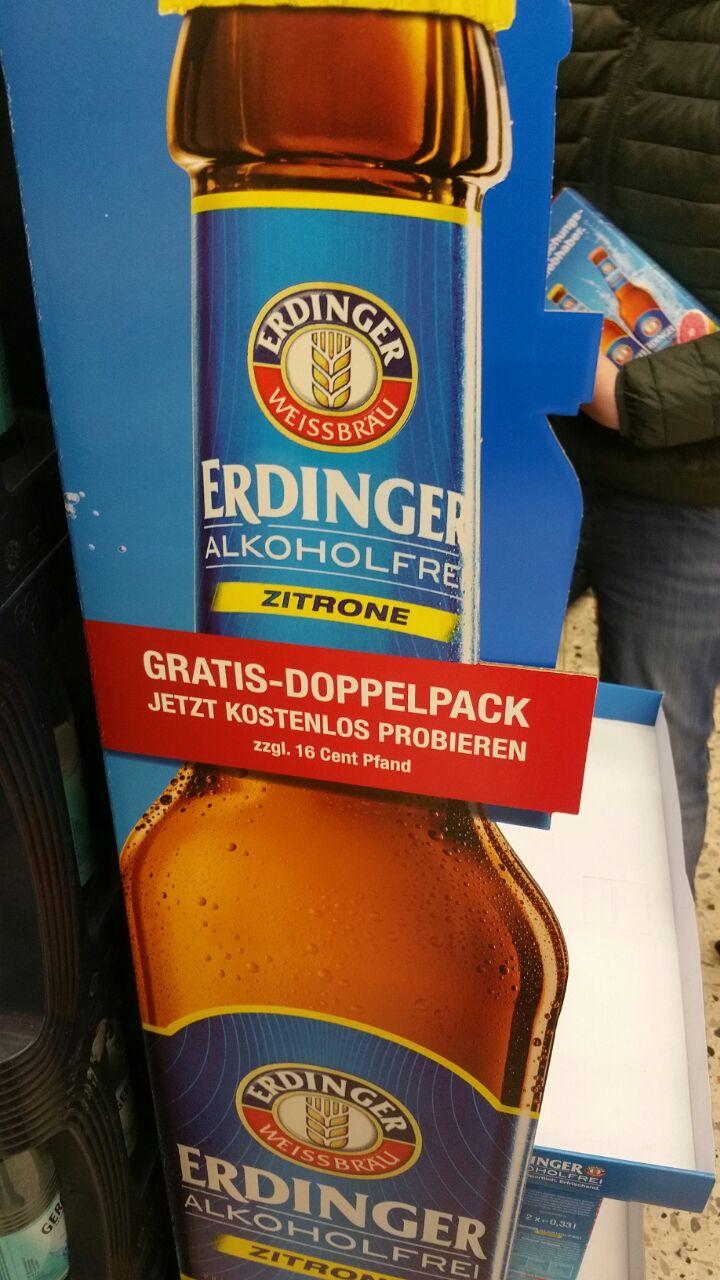 [ GRATIS ] - Erdinger Alkoholfrei Doppelpack (Einzelhandel / Facebook)