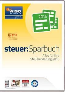 WISO steuer-Sparbuch 2017 (Steuerjahr 2016) mit Steuerratgeber als PDF