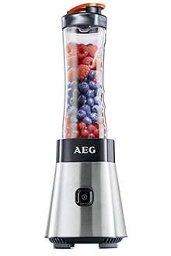 AEG PerfectMix SB 2400 Mini Mixer bruchfeste 0,6 l BPA-freie Tritan-Trinkflasche [amazon Prime]