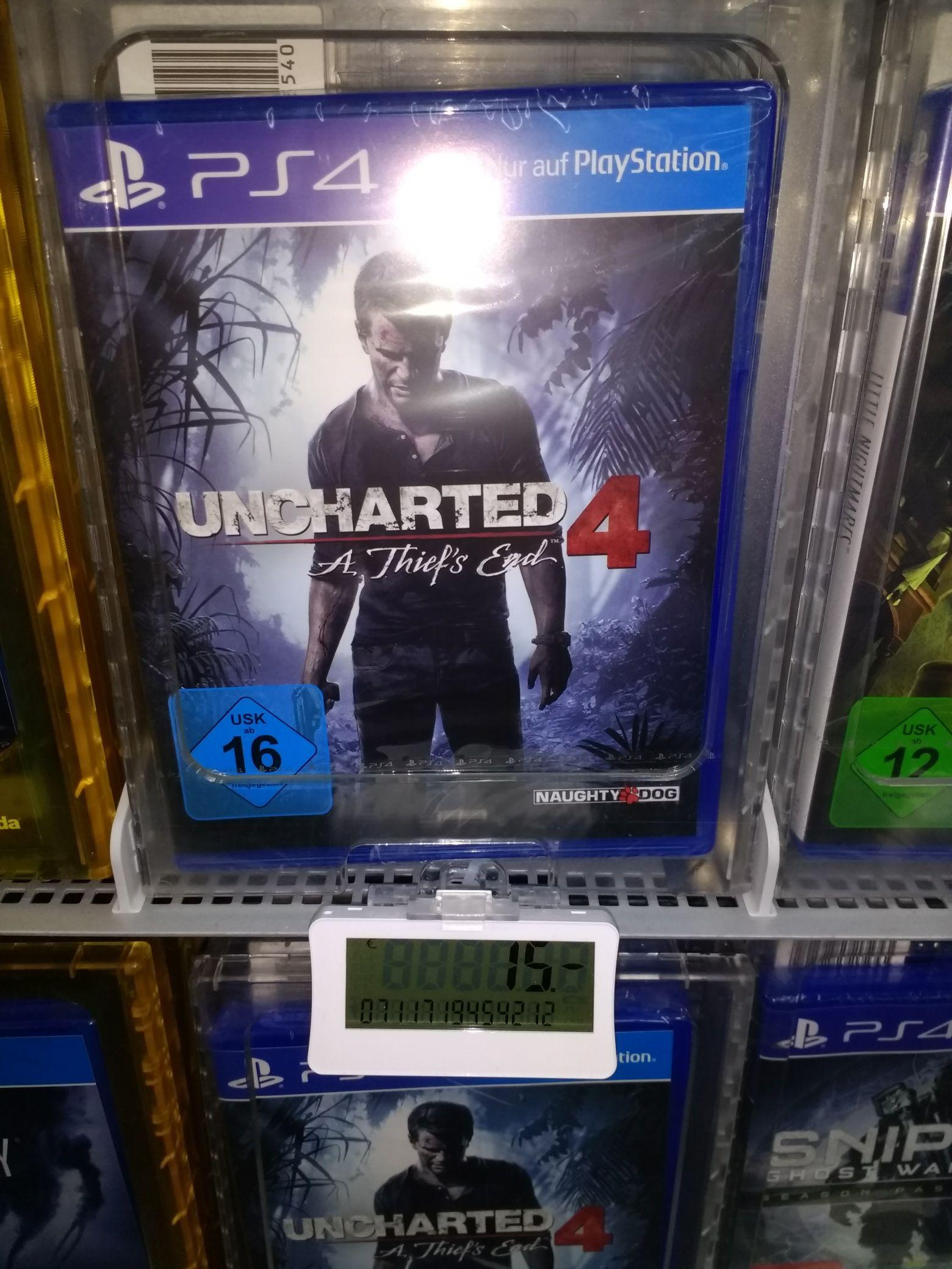 (lokal Saturn Zwickau) Uncharted 4 - Diskversion - PS4