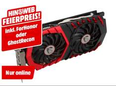 (Mediamarkt.de) MSI GF GTX1060 Gaming 6 GB -20€ MSI Cashback + Ghost Recon/ For Honor