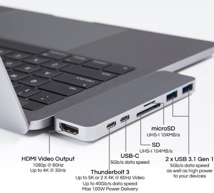 Hyperdrive USB-Hub für MacBook Pro (2016)