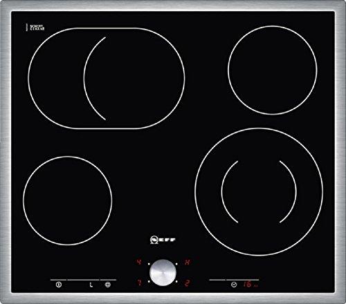 Neff TT 1342 N Kochfeld PVG:429€ Elektro / Ceran/Glaskeramik / 59.3 cm / 4 HighSpeed-Heizkörper / schwarz