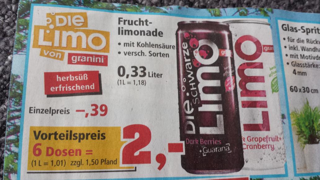 Thomas Philips Die Limo 0,33 6 Dosen