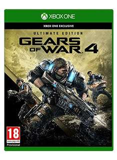 Gears Of War 4 - Ultimate Edition (Xbox One) für 37,35€ (Amazon.es)