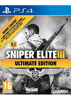 Sniper Elite 3 – Ultimate Edition (PS4) für 16,65€ inkl. VSK (Base.com)
