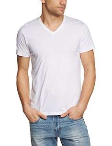 [AMAZON] ESPRIT Herren T-Shirt BASIC - Slim Fit, V-Neck, weiß - 5,49 Euro