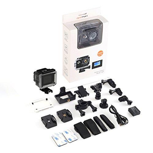 [Amazon Prime] APEMEN Full HD 1080p Wasserdichte Aktion Kamera 31,99€