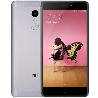 Xiaomi Redmi Note 4 4G Phablet - Global Version, 3GB RAM, 32GB ROM, grey & golden ab