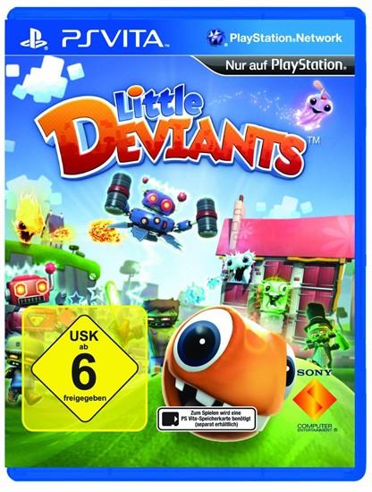 [Gamestop online] Little Deviants - PS Vita für 0,56 € (ggfs. + 3,90 € Versand)