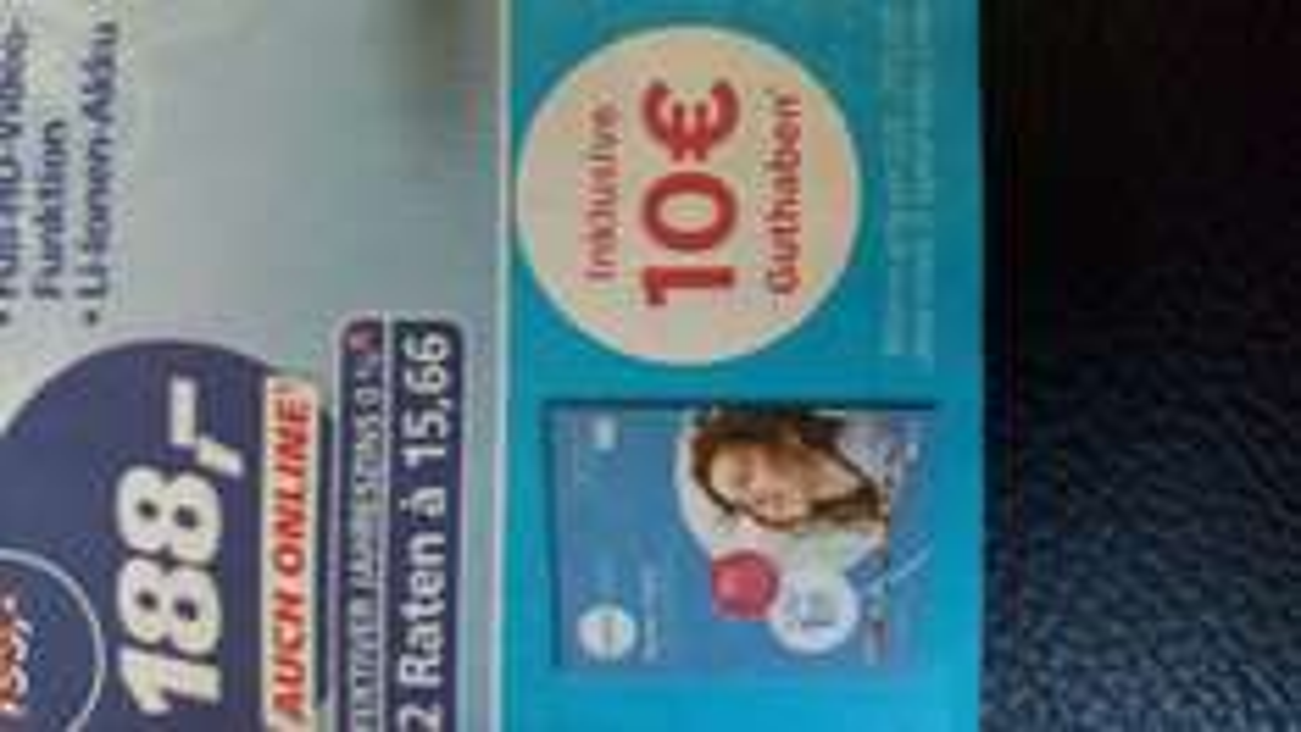 Lebara Prepaid bei Real 5€ mit 10€ Guthaben