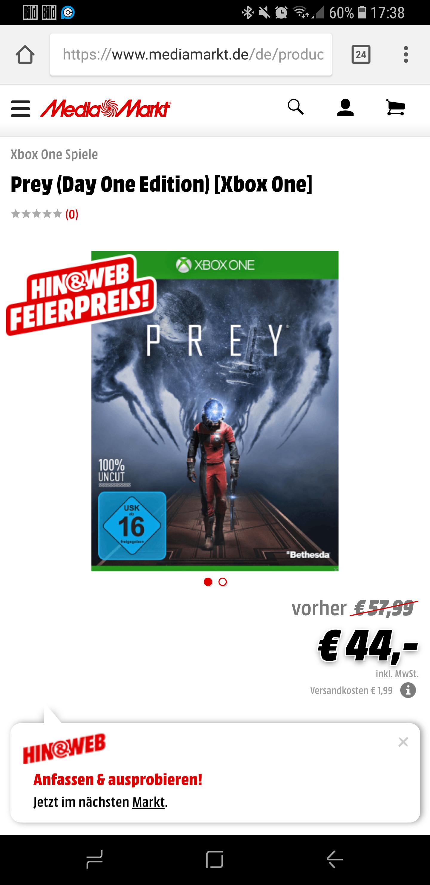 Prey Day One Edition Playstation 4