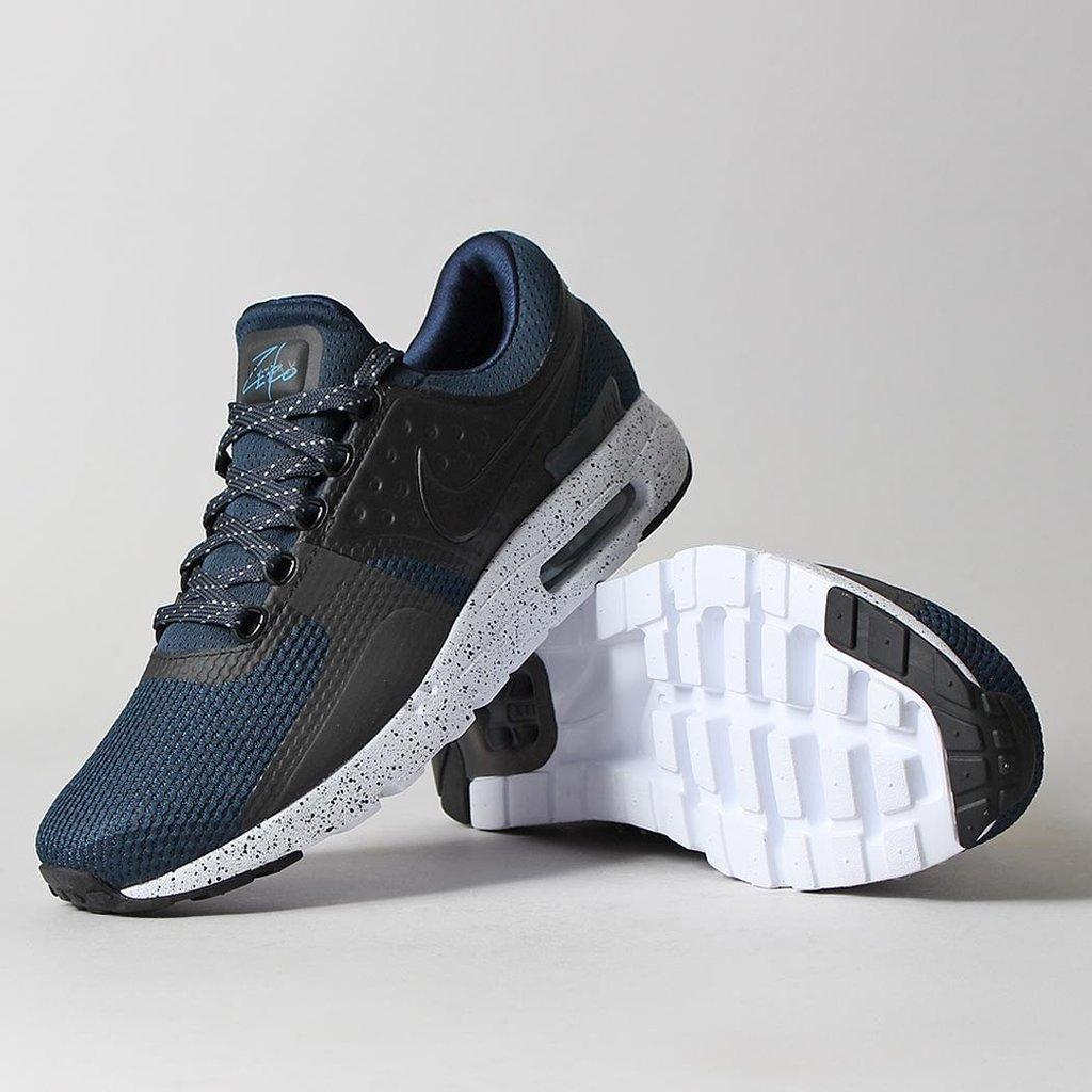 Nike Air Max Zero Premium Shoes – Armory Navy/Black/Industrial Blue [urbanindustry]