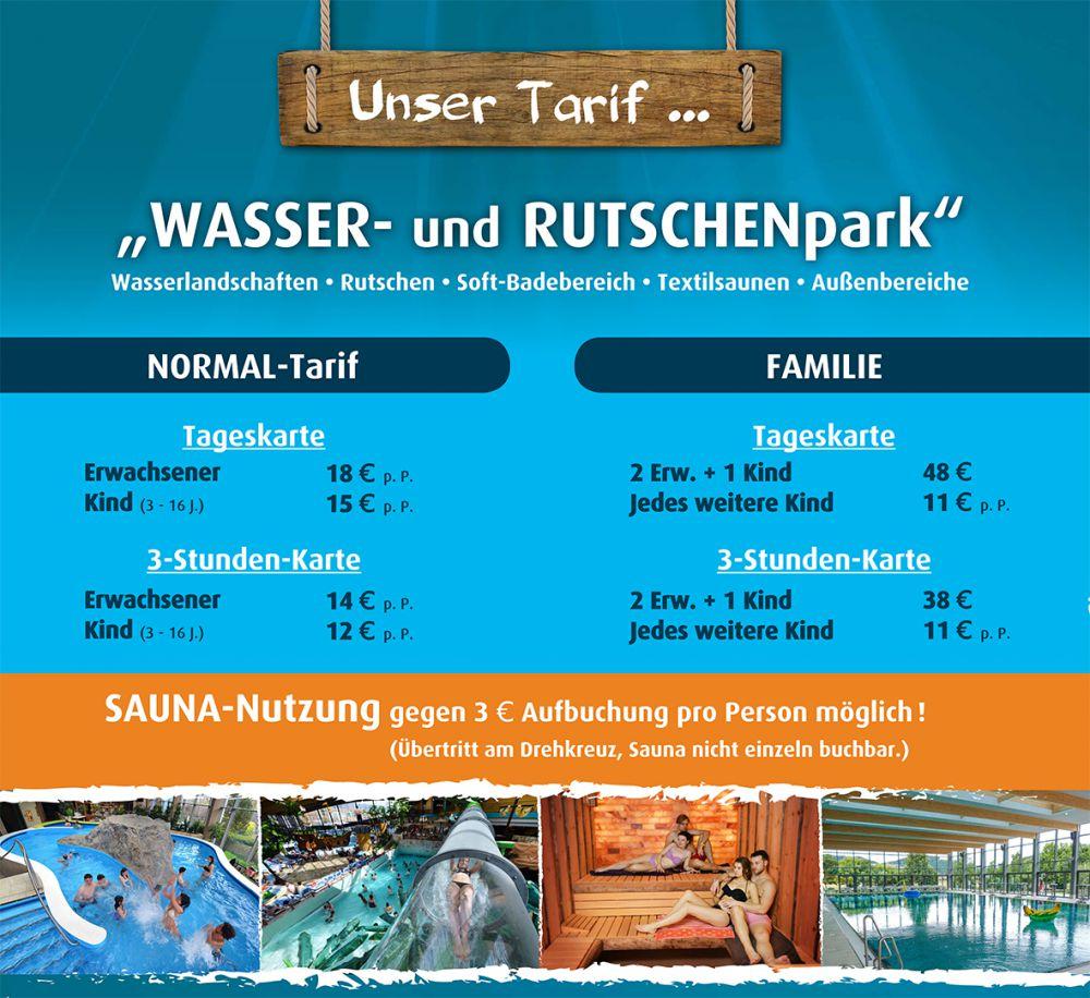 [Lokal Plettenberg, Sauerland] AquaMagis Erlebnisbad Aktion Dienstags&Mittwochs