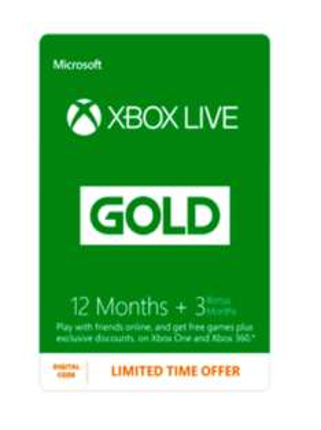 15 Monate Xbox Live Gold für 31,21€ bei Game.co.uk
