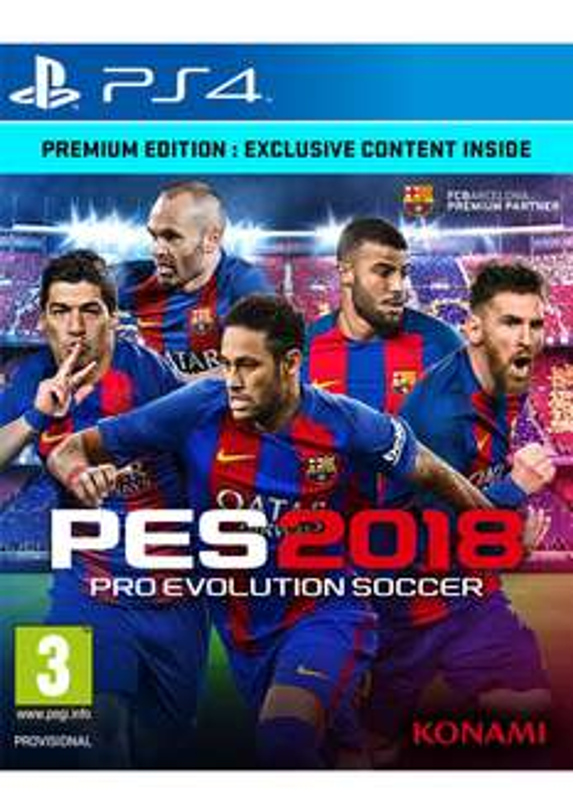 PES 2018 – Premium Edition (Xbox One & PS4) für je 43,22€ inkl. VSK (SimplyGames)