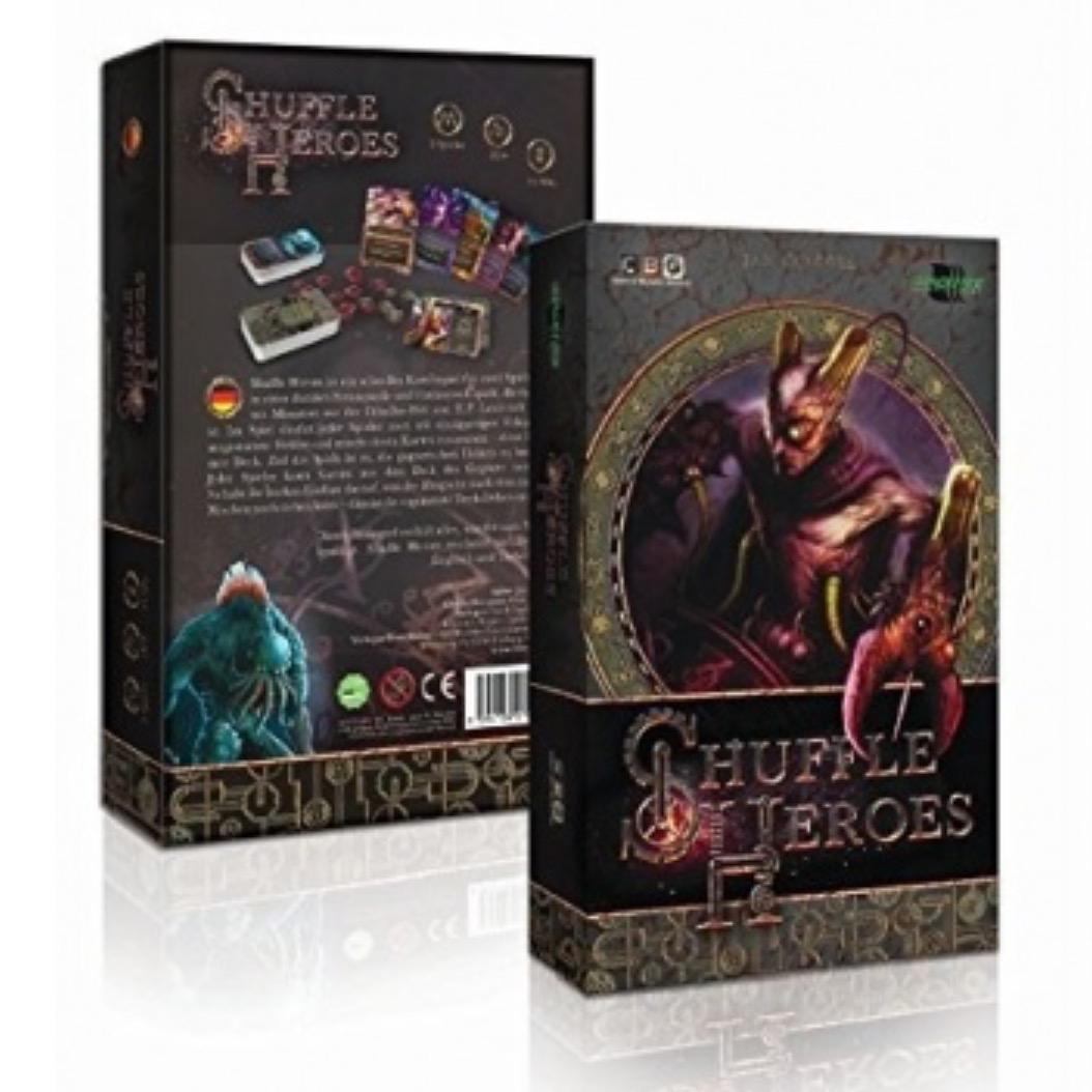 """[Spiele-Offensive.de] Kartenspiel """"Shuffle Heroes"""" für 5,89€ inkl. VSK (statt 15,97€)"""