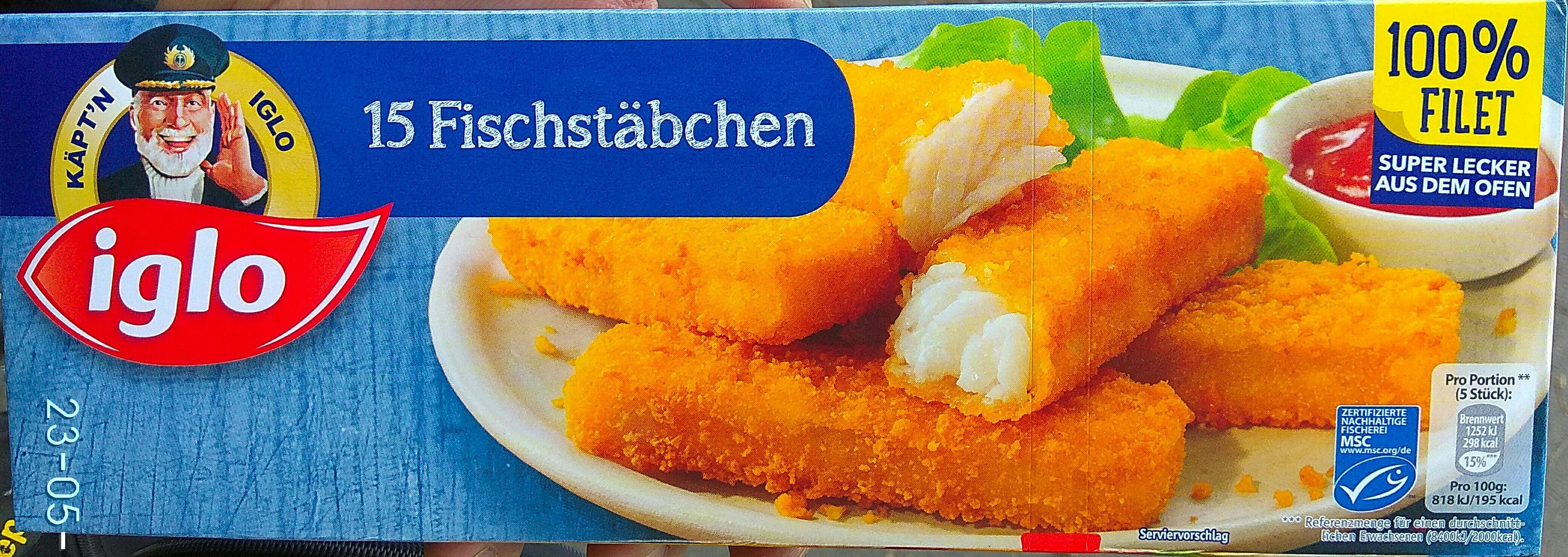 IGLO-Fischstäbchen