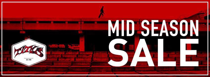 Titus Mid Season Sale - Markenprodukte (zum Teil) stark vergünstigt - von Kleidung bis Skateboards