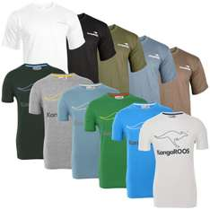 KangaROOS T-Shirts mit Logoprint für 7,99€ [ebay]
