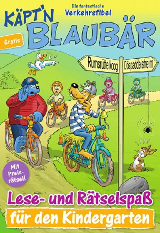 Käpt'n Blaubär - Die fantastische Verkehrsfibel Kindergarten & Grundschule kostenfrei