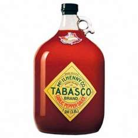 Gallone Tabasco Garlic Pepper / Chipotle Pepper / Habanero Pepper