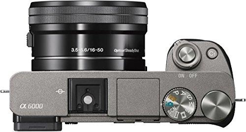 Sony Alpha 6000 529,00€ grau oder weiss [amazon.de]