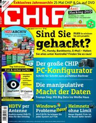12 Ausgaben Chip Premium