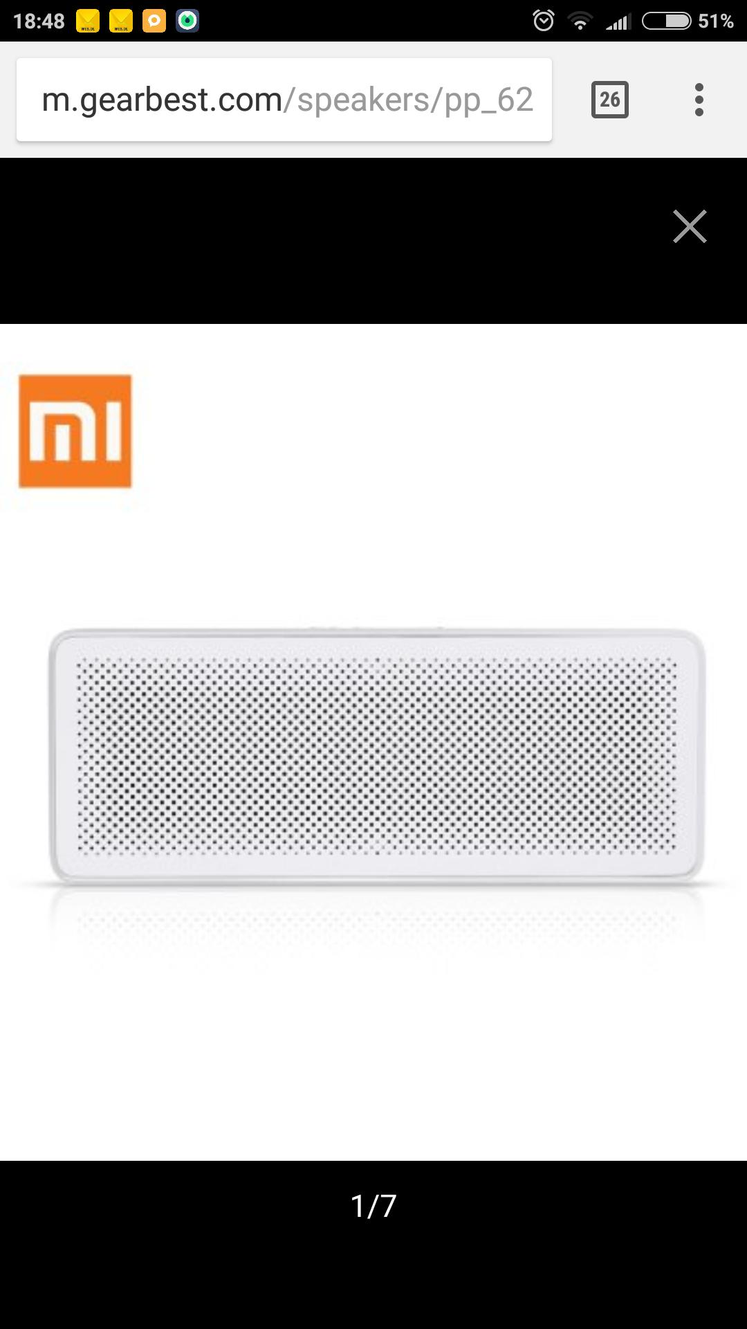 Xiaomi Lautsprecher 4.2 Bluetooth