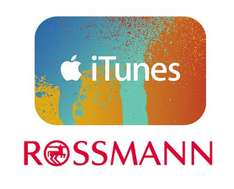 15 extra guthaben auf itunes karten bei rossmann. Black Bedroom Furniture Sets. Home Design Ideas