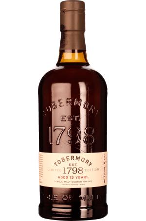 TOBERMORY 15 Jahre - Single Malt Whisky @drankdozijn.nl