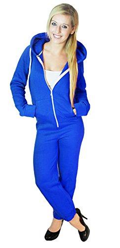 Damen Jumpsuit Einteiler Trainingsanzug Overall  NEU