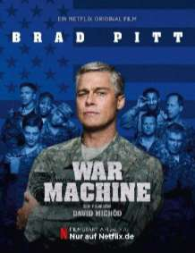"""2 Netflix Serienplakate für """"War Machine"""" verfügbar"""