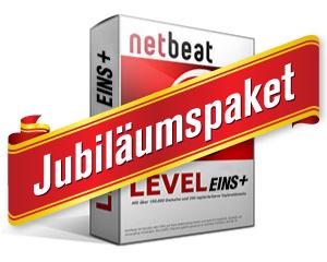 NetBeat Jubiläumspaket