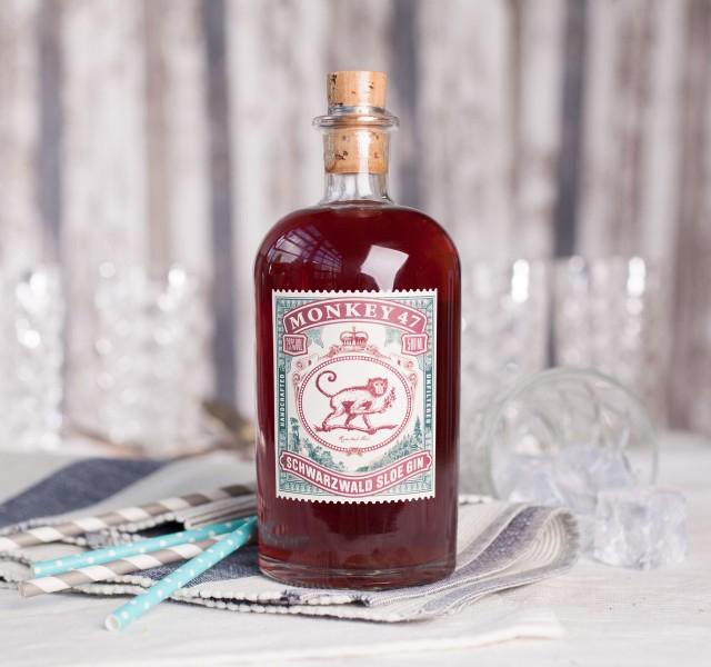 2x Monkey 47 Sloe Gin je 0,5L - 25,85€ pro Flasche