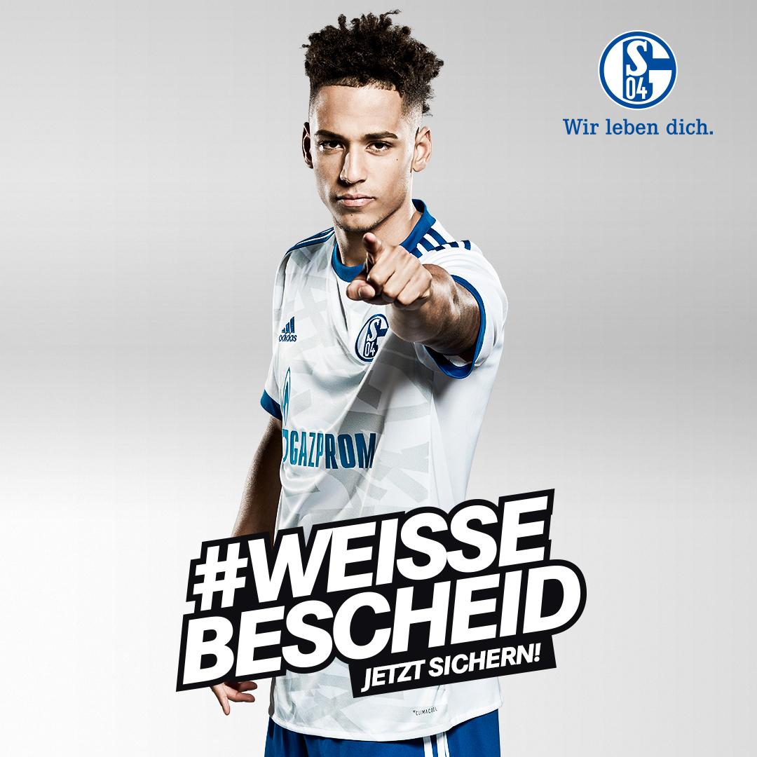 Letzte Chance: Schalke Auswärtstrikot nur noch einen Tag für 79,95 € statt 89,95 €