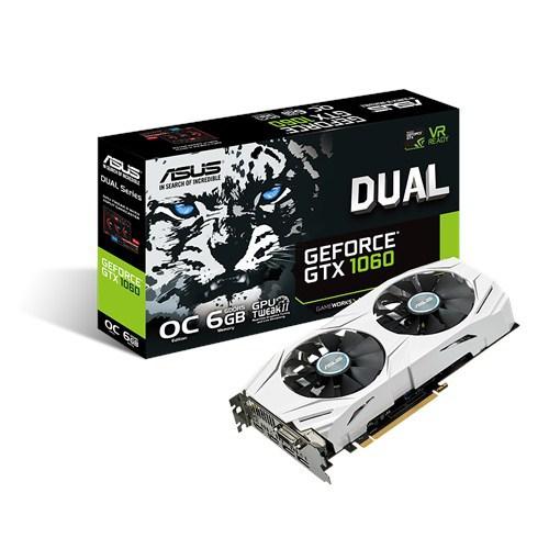 ASUS Dual GeForce GTX 1060 6GB OC für 243,89€ (NBB)