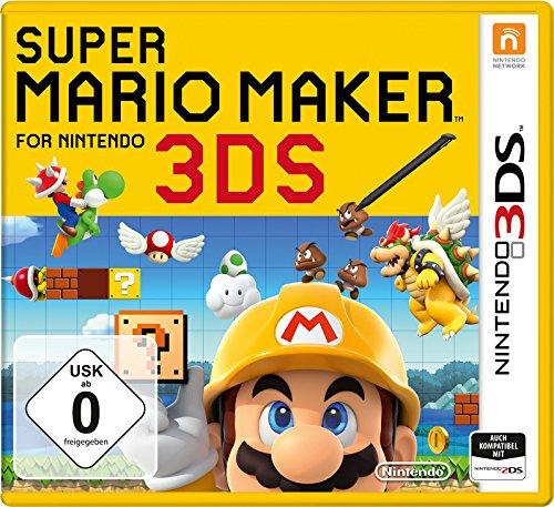 Super Mario Maker for Nintendo 3DS 27,99 € Prime + inkl. 1€ Gutschein Amazon Video