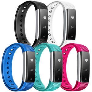 NINETEC Smartfit F3HR Fitnesstracker Aktivitätsband Fitness Armband Herzfrequenz